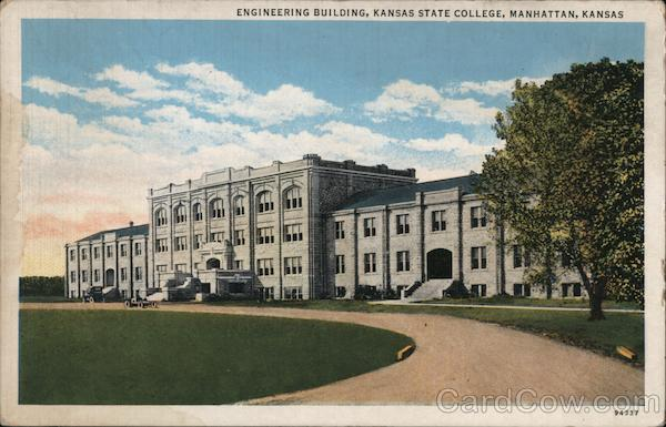 Engineering Building, Kansas State College Manhattan