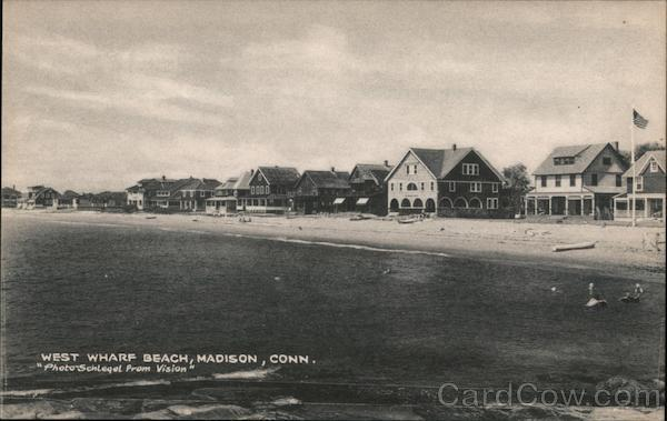 West Wharf Beach Madison Connecticut Schleqel Prom Vision