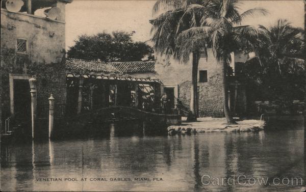 Venetian Pool at Coral Gables Miami Florida