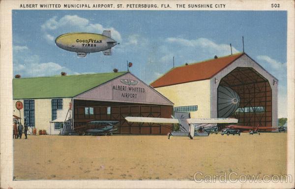 Albert Whitted Municipal Airport St. Petersburg Florida