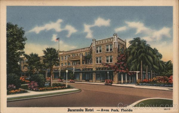 Jacaranda Hotel Avon Park Florida