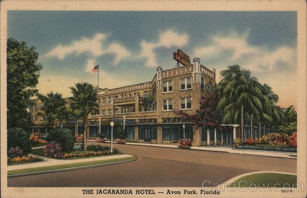 The Jacaranda Hotel Avon Park Florida