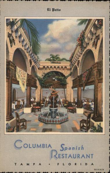 Columbia Spanish Restaurant Tampa Florida