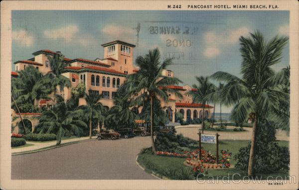 Pancoast Hotel Miami Beach Florida
