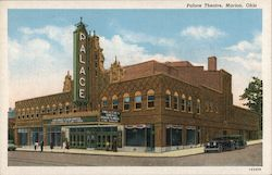 Palace Theatre, Marion, Ohio Postcard