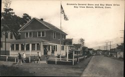 Bromm's General Store and Bay Shore Drive, Bay View Beach