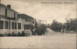 Oakland Ave., Bay View Beach. Milford, Conn.
