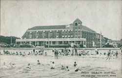 Park Beach Hotel. Falmoth Heights, mass. Postcard