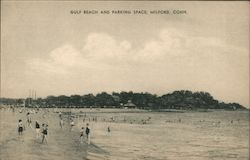 Gulf Beach and Parking Space, Milford, Conn.