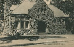 Taylor Library Postcard