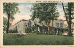 Marshall House, Schuylerville, N.Y.