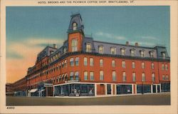 Hotel Brooks and the Pickwick Coffee Shop