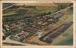 Air view of Parks Air College, East St. Louis, Illinois