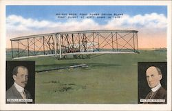 Wright Brothers First Power Driven Plane