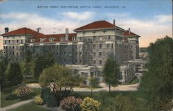 Battle Creek Sanitarium, Battle Creek, Michigan Postcard