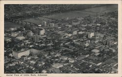 Aerial View of Little Rock, Arkansas