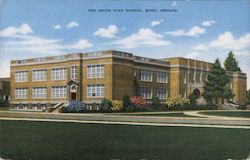 The Union High School, Bend, Oregon Postcard