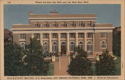 Buckstaff Baths, U.S. Reservation Postcard