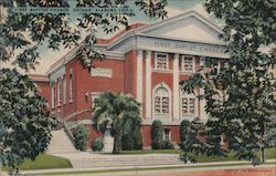 First Baptist Church. Dothan, Alabama Postcard