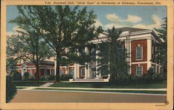"Barnwell Hall. ""Girls' Gym"" at University of Alabama, Tuscaloosa, Ala. Postcard"