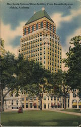 Merchants National Bank Building from Bienville Square