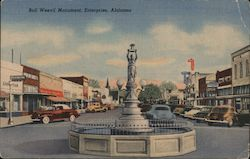 Boll Weevil Monument, Enterprise, Alabama Postcard