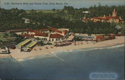 Exclusive Bath and Tennis Club, Palm Beach, Fla.
