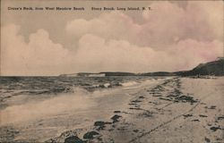 Crane's Neck, from West Meadow Beach, Long Island Postcard