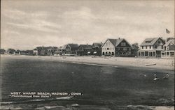 West Wharf Beach Postcard