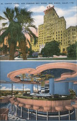 El Cortez Hotel and famous Sky Room, San Diego, Calif.