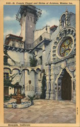 St. Francis Chapel and Shrine of Aviators, Mission Inn Riverside, California
