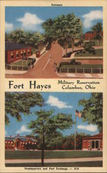 Fort Hays Military Reservation. Columbus, Ohio