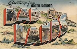 Greetings from North Dakota Bad Lands