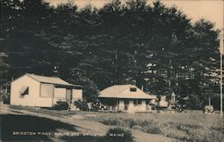 Bridgton Pines, Route 302, Bridgton, Maine Postcard