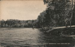 Lake Wononscopomuc, Lakeville, Connecticut, near Interlaken Inn
