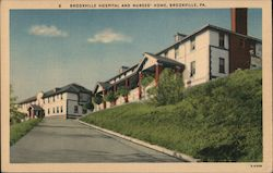 Brookville Hospital and Nurses' Home Postcard