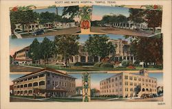 Scott and White Hospital Postcard