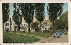 Ausable Inn, Port Kent on Lake Champlain, N.Y.
