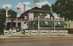 Tally Ho Park Ridge, Ill Postcard