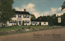 The Shaker Glen House Postcard