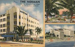 "The Norman ""On the Ocean's Very Edge"" Postcard"