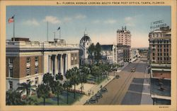 Florida Avenue Looking South from Post Office