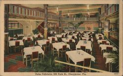 Palm Cafeteria, 524 Park St., Clearwater, Fla. Postcard