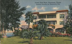 Sunset Point Hotel Postcard