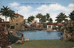 The Venetian Pool, Coral Gables, Florida Postcard