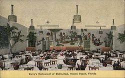 Curry's Restaurant of Distinction, Miami Beach, Florida Postcard
