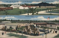 The Big Top, Ringling Bros. and Barnum & Bailey Winter Quarters, Sarasota, Fla. Monkey Island