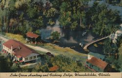 Lake Grove Hunting and Fishing Lodge Postcard