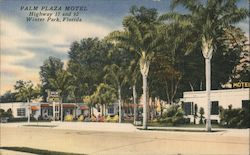 Palm Plaza Motel. Highway 17 and 92. Winter Park, Florida