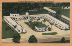 Tropical Palms Court, Fort Myers, Florida